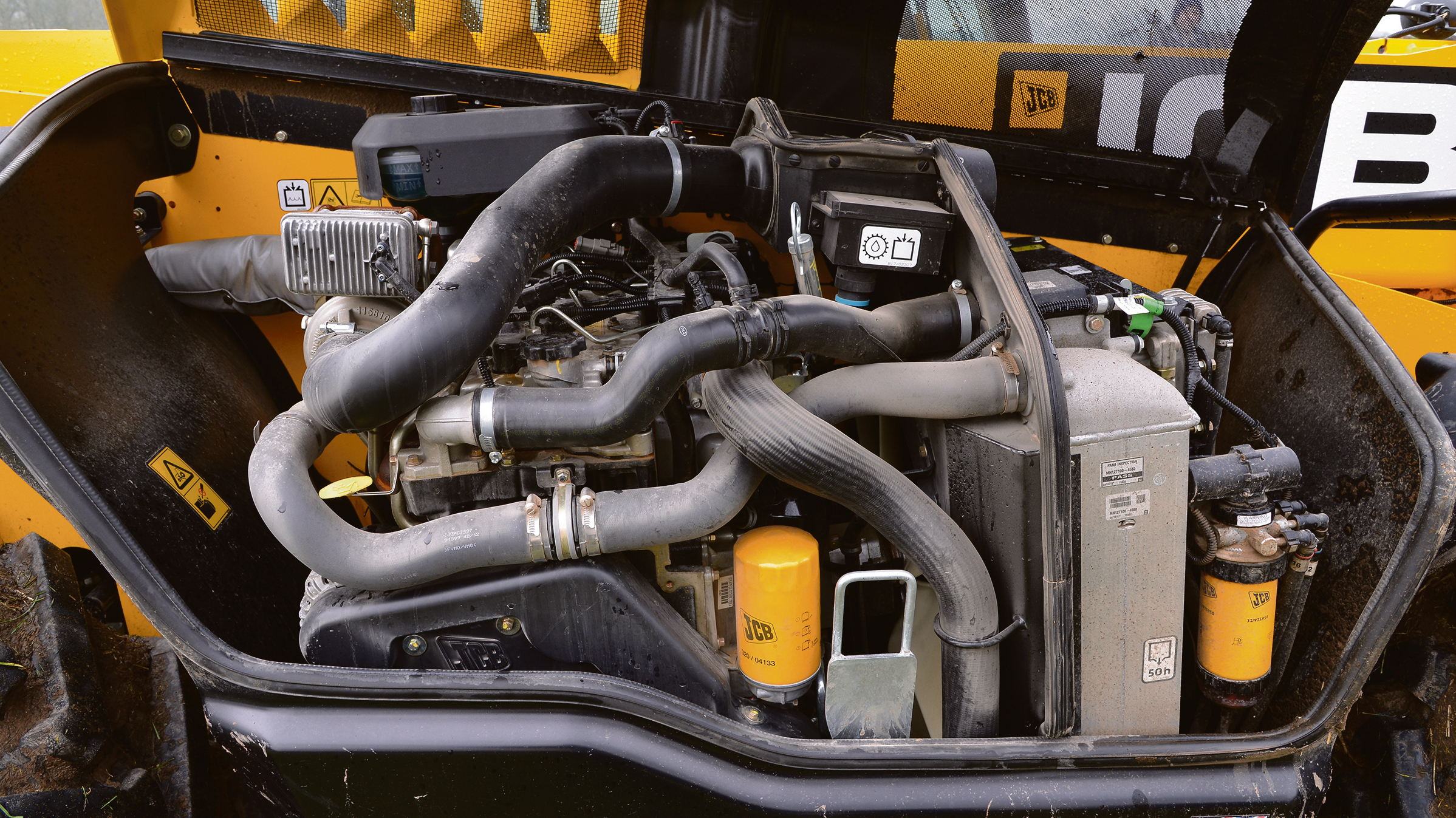 The JCB loadall engine