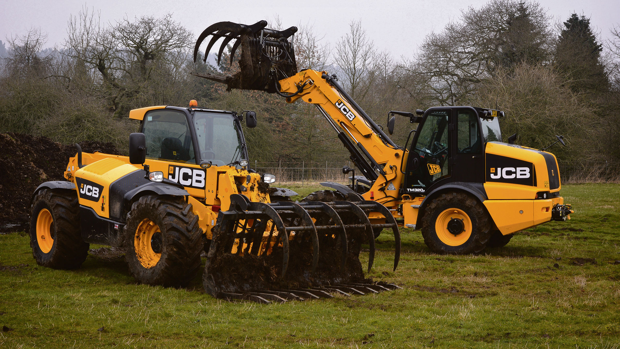 On test: JCB's new telehandlers