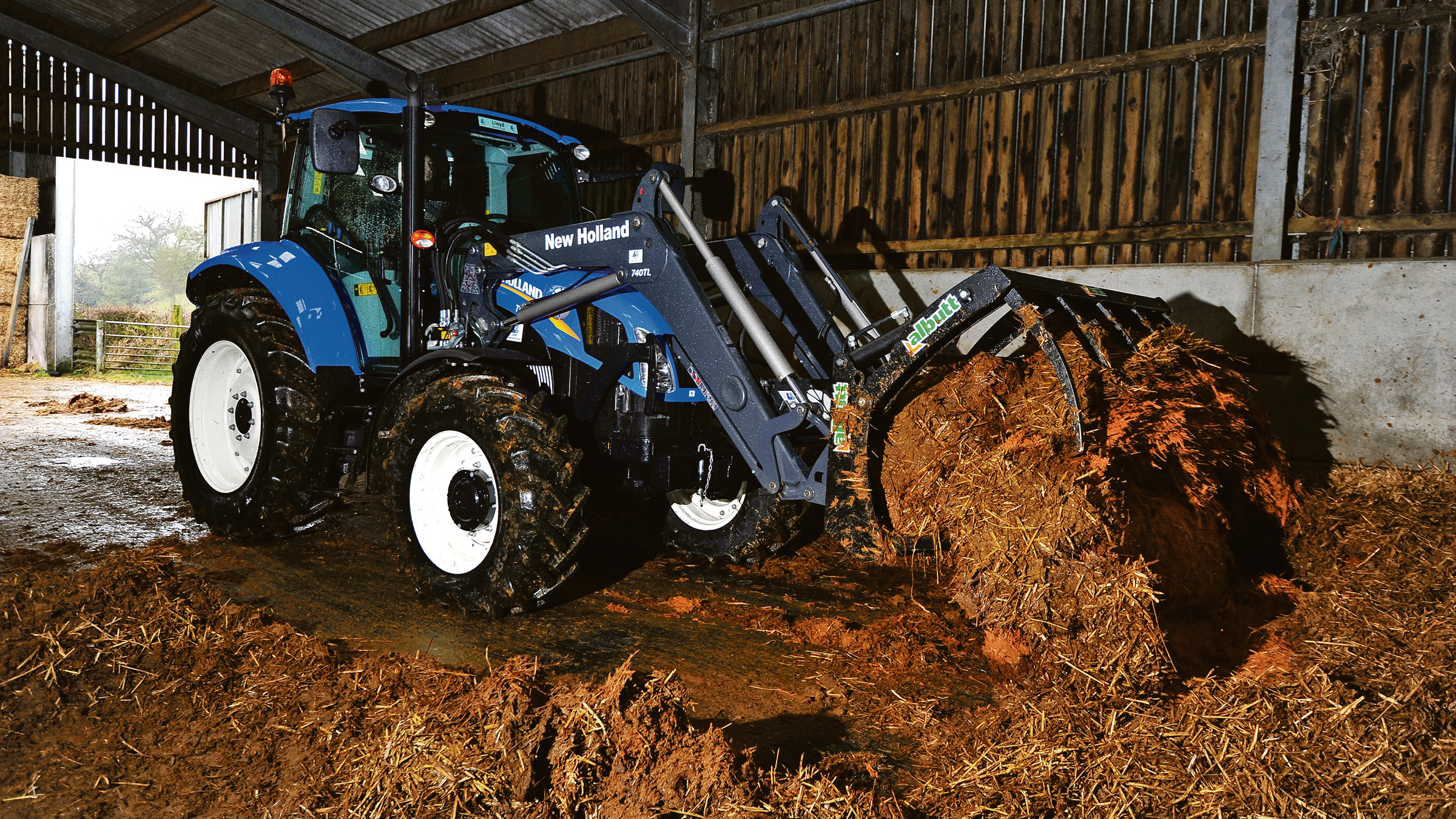 On test: New Holland T5.105