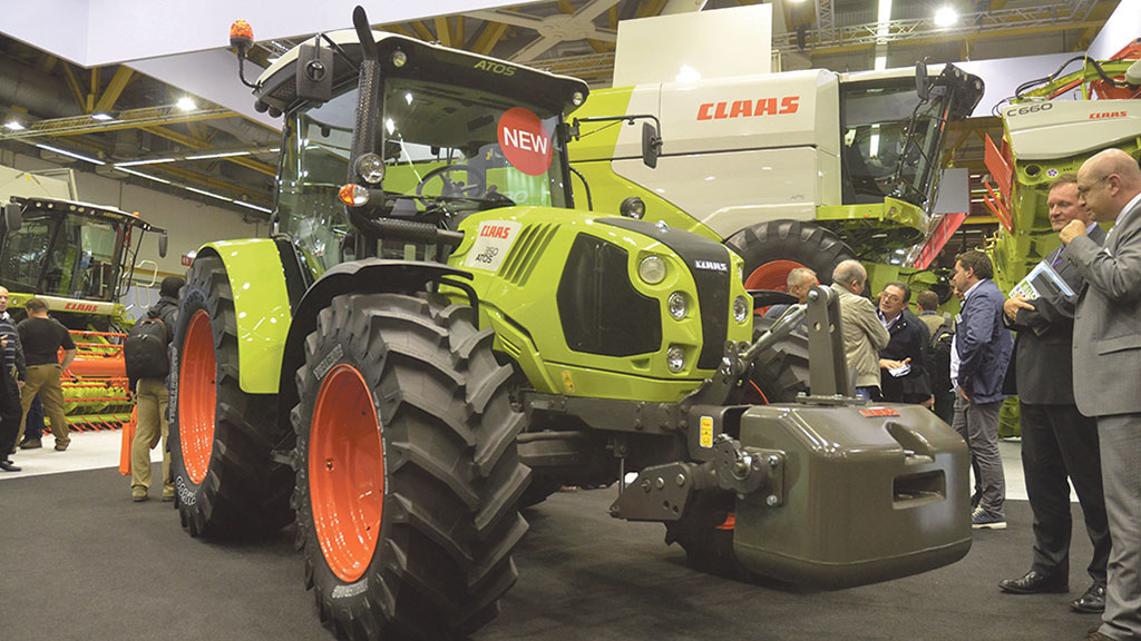 Claas Atos Series tractor