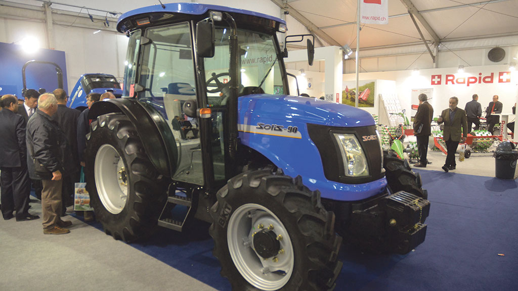More powerful Solis tractors