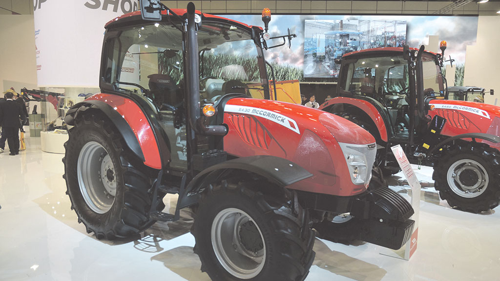 McCormick X4 Series tractor