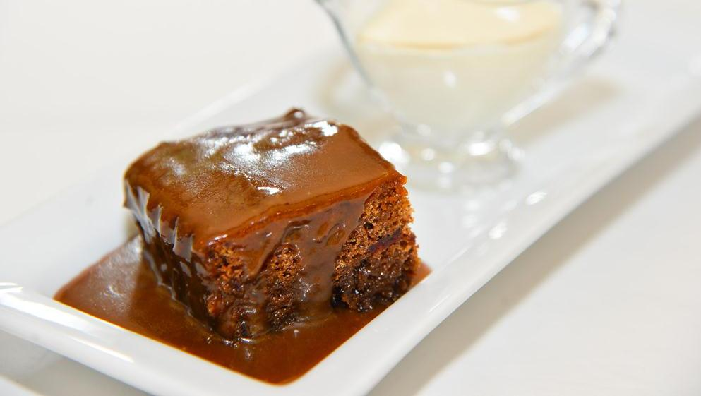 FG's winter soups and a sticky pudding