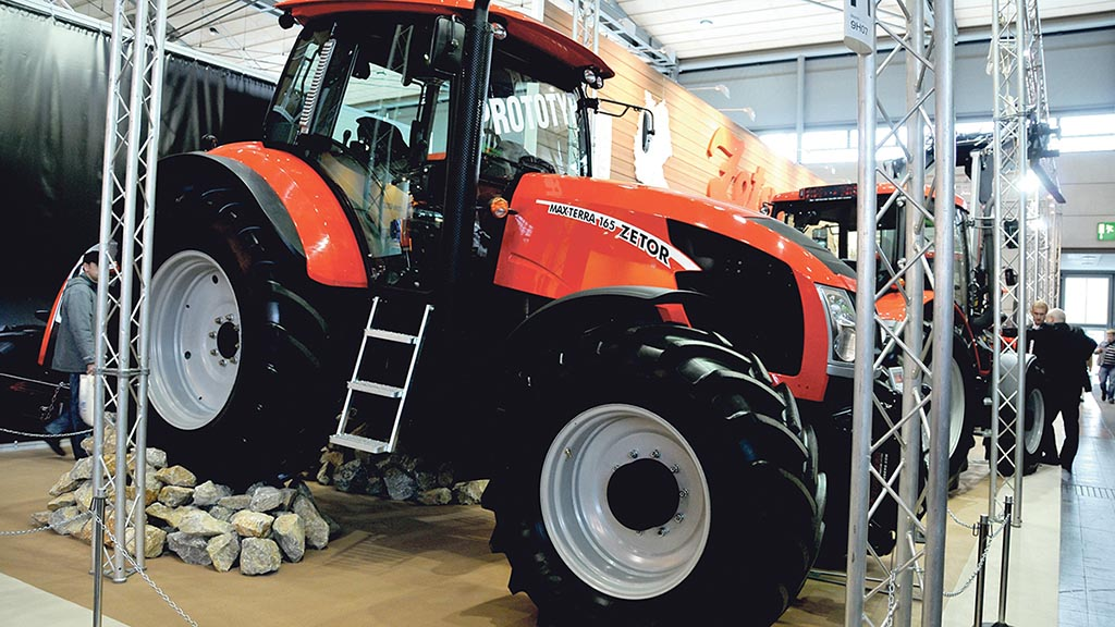 Deutz power for new larger Zetors