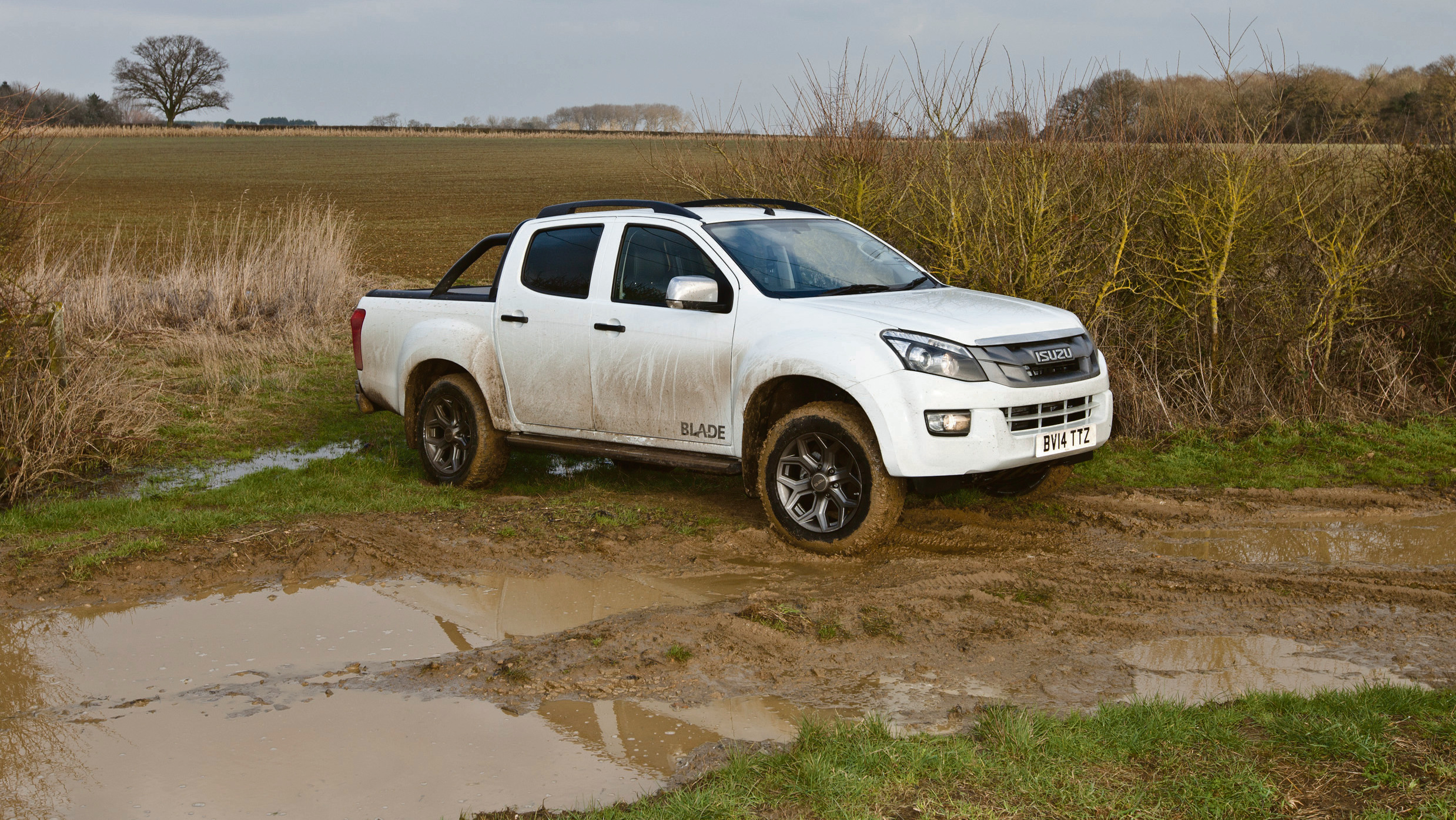 Isuzu D-Max Blade cuts out some substance in favour of style