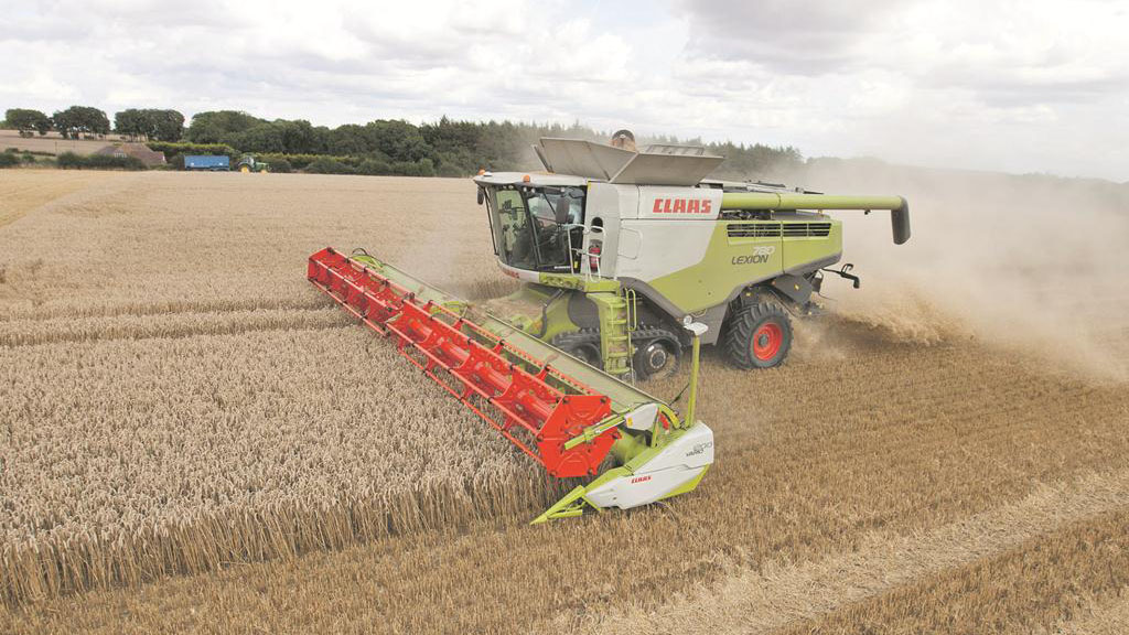 Farm focus: Managing outputs with one high-capacity combine