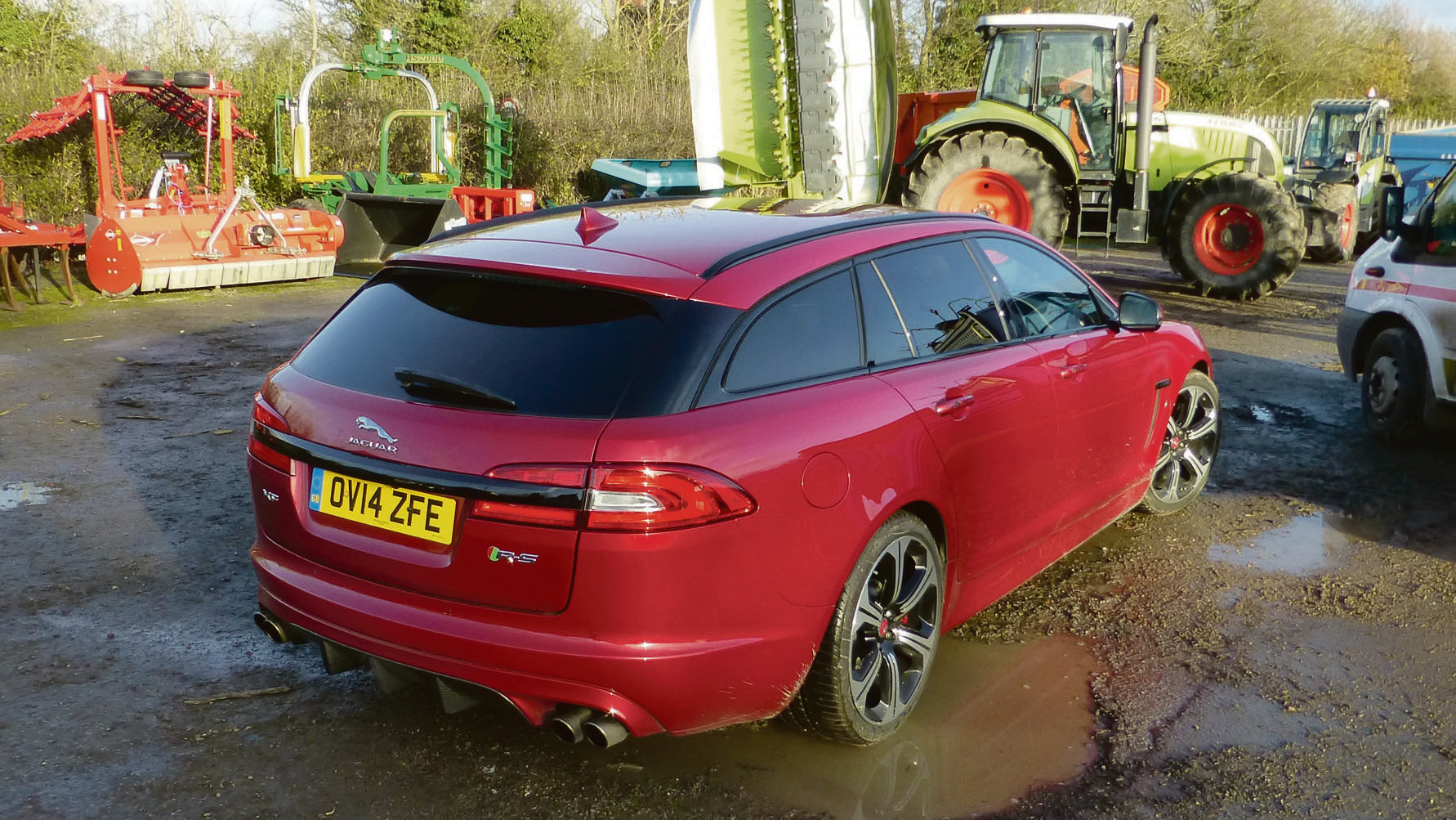 Road test: Jaguar XFR-S Sportbrake, one for the fantasy list