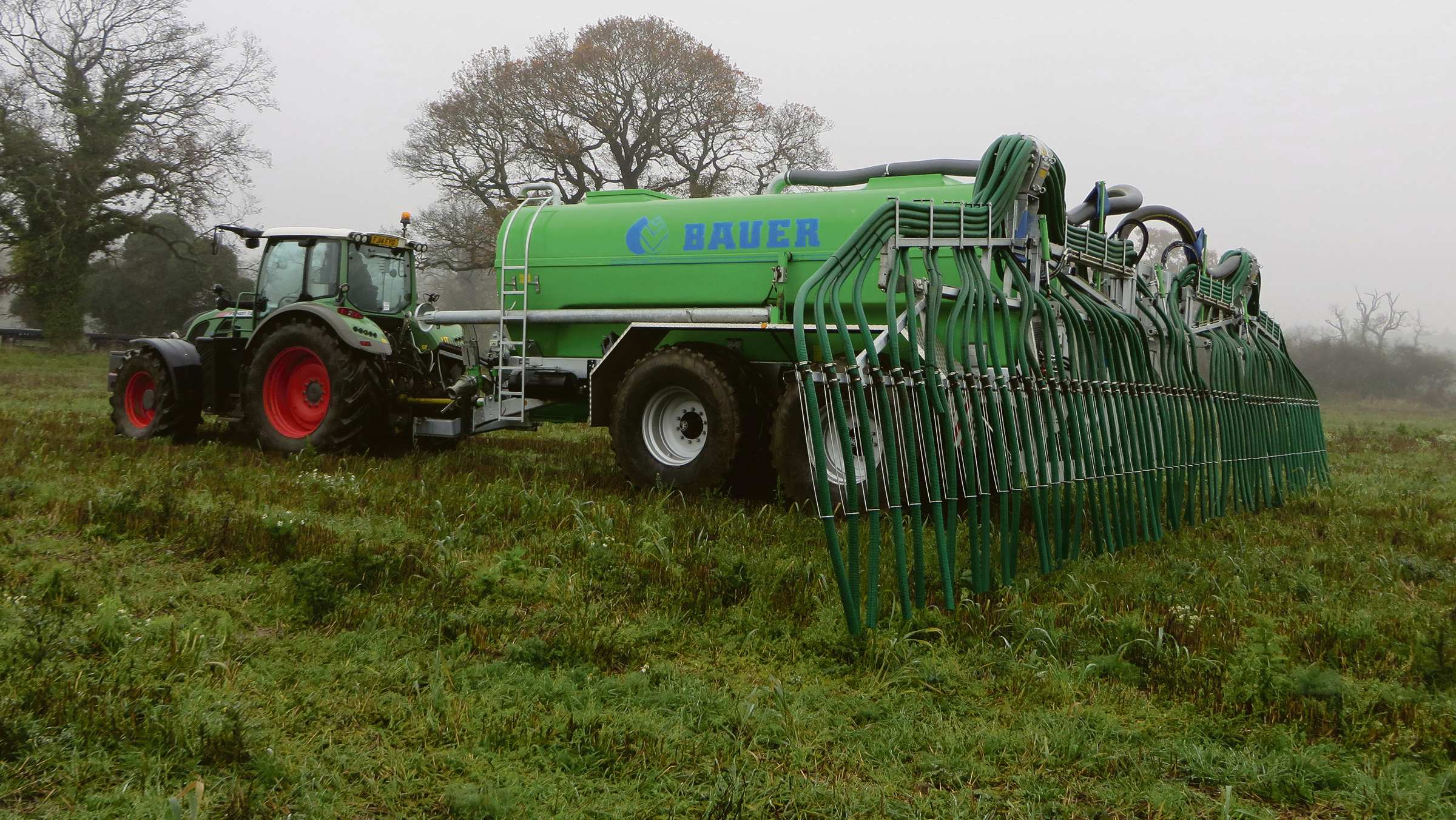 Muck and slurry: Bespoke tanker built to tackle digestate tasks