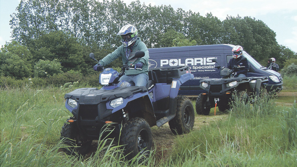 Latest Polaris ATV targeted at hill farmers