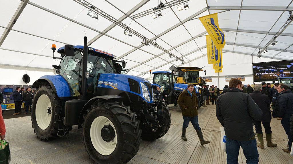 Winner announced for this year's Farmers Guardian/New Holland Lamma competition