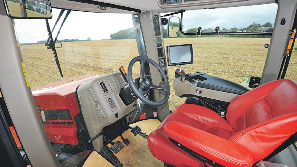Tracked tractor test: Case IH Quadtrac 550
