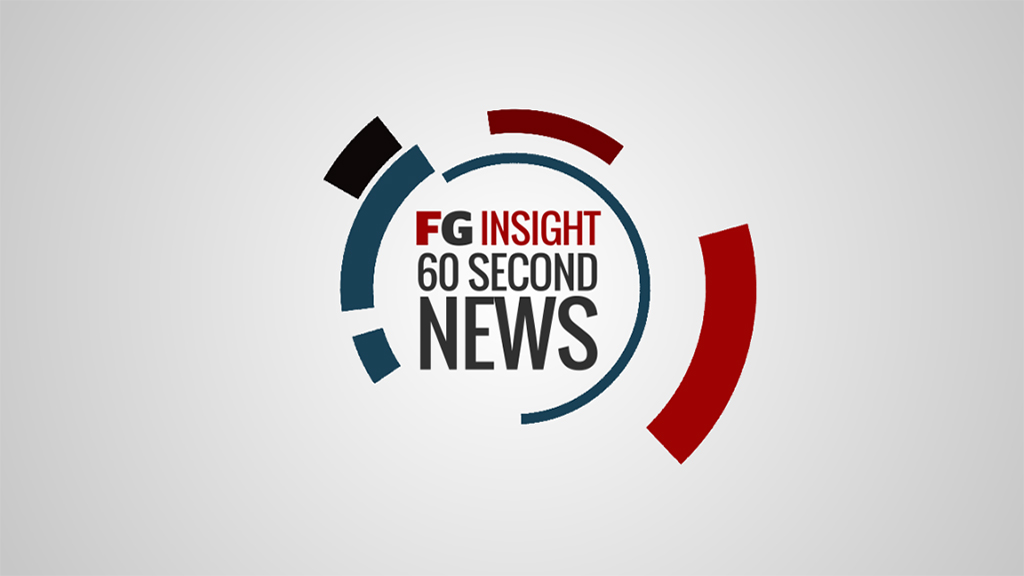 FGInsight 60 second news: September 29, 2016