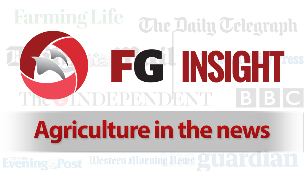 Agriculture in the news - August 26, 2016