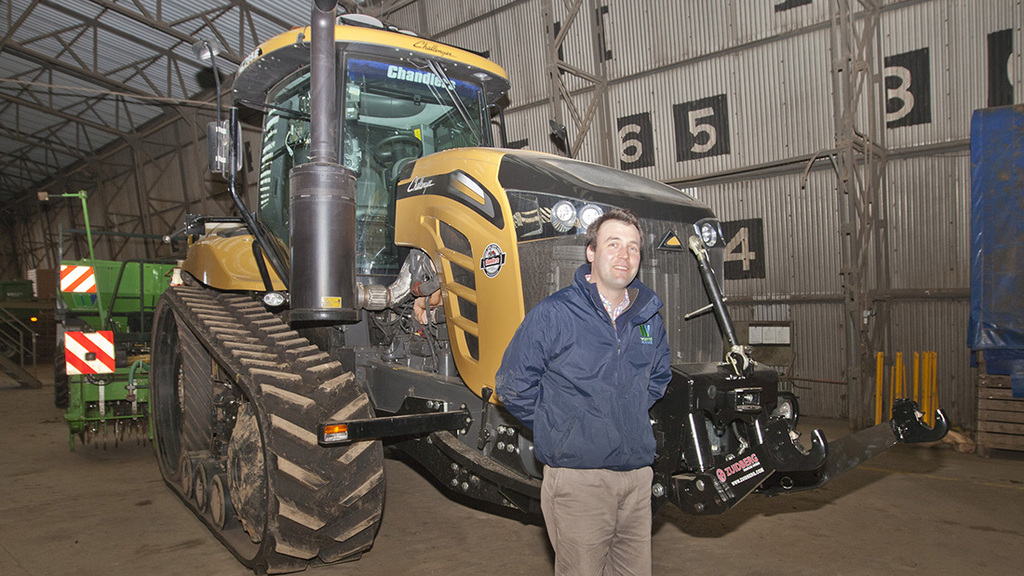 Worth Farms, at Holbeach Hurn, Lincolnshire, uses three Challenger