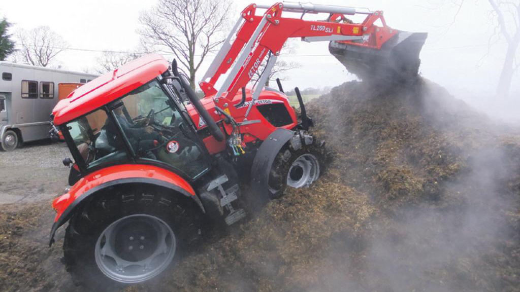 On test: Zetor Forterra 115 tractor / TracLift TL260 SLi loader