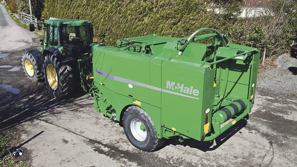 getting the best from mchale fusion 2 combi baler news farmers rh fginsight com McHale and McHale McHale Round Baler