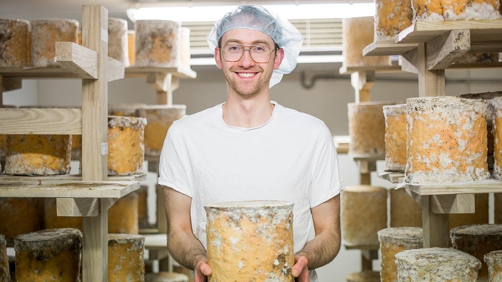 Creating Northern Ireland's first raw milk blue cheese
