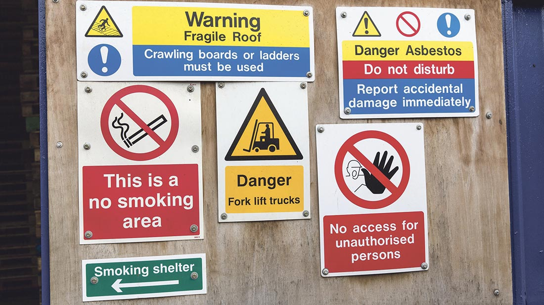Health and safety: Your course options
