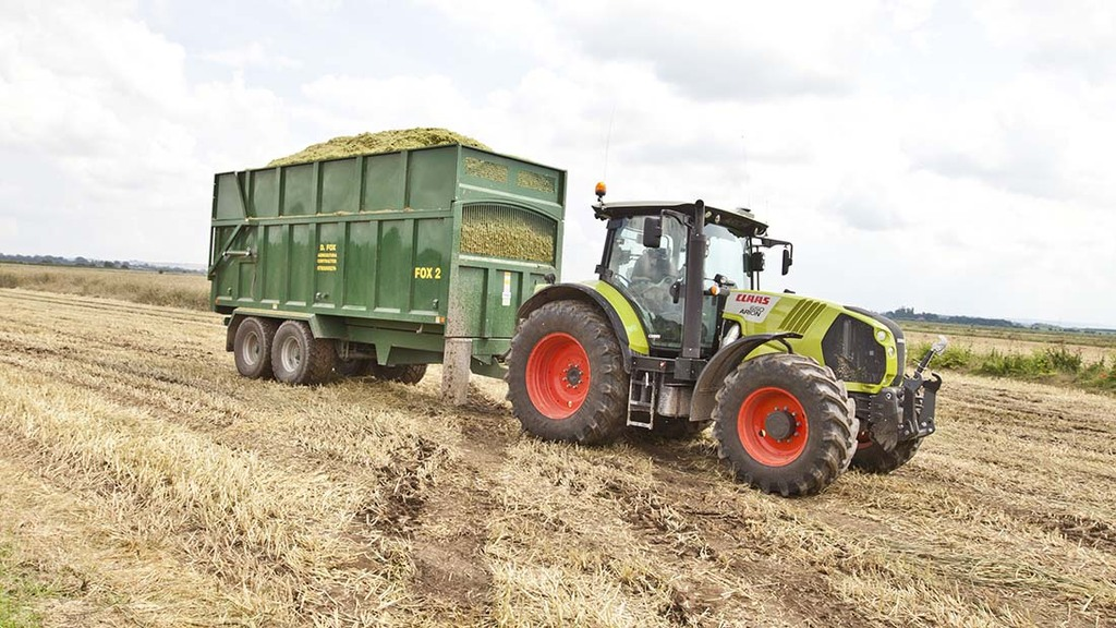 On A Tractor Trailer Weights : Tackling trailer maintenance insights farmers guardian