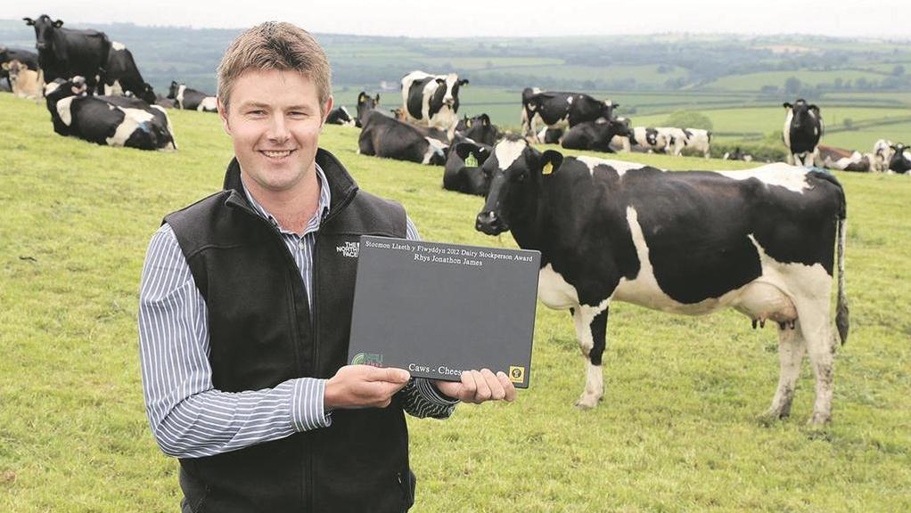 sharing knowledge is key believes young welsh dairy farmer news