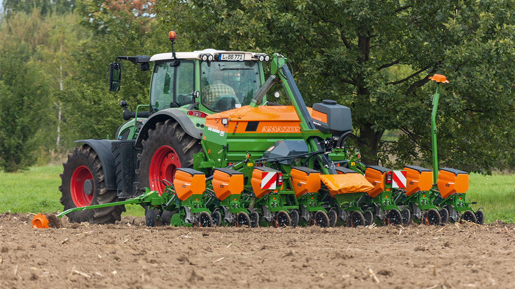 Amazone launch third generation maize drill