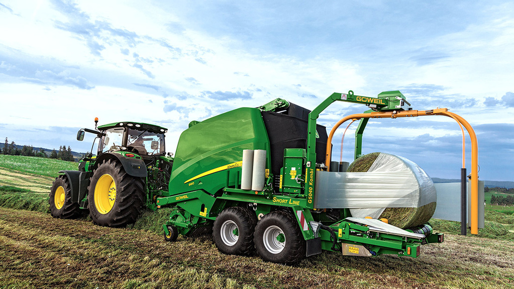 JD now offering 'combi' version of 900 baler