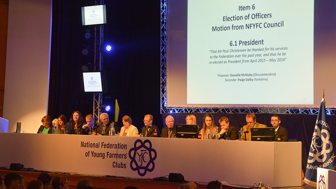 AGM 2015: NFYFC members see 20 per cent levy increase