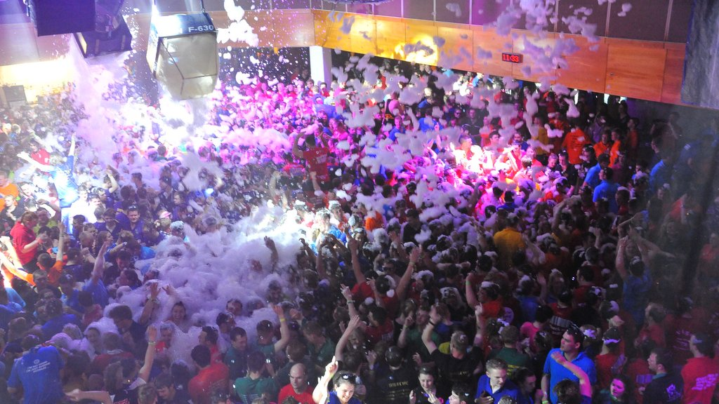 YFC foam party