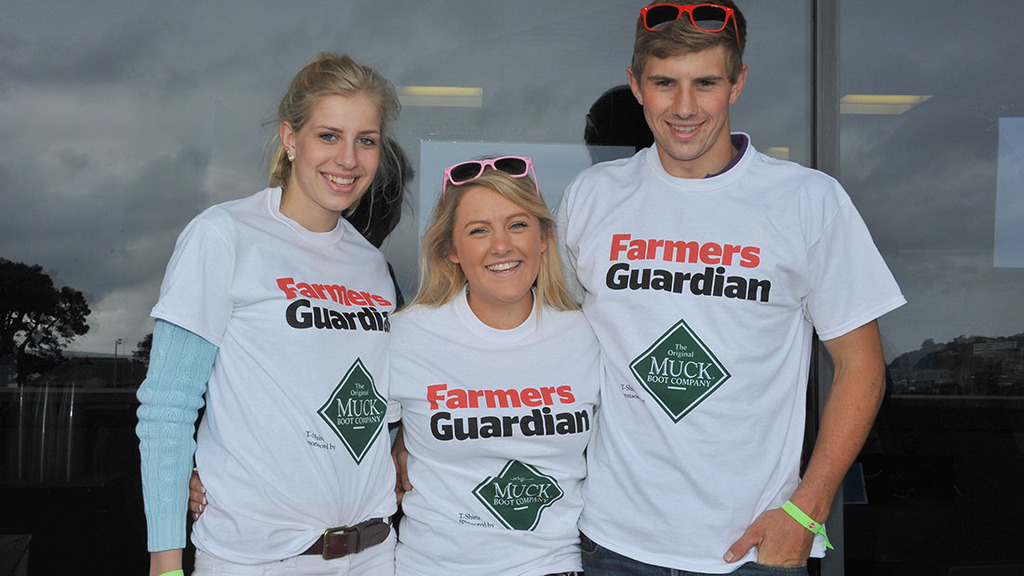 Don't forget to pick up your Farmers Guardian t-shirts this weekend!
