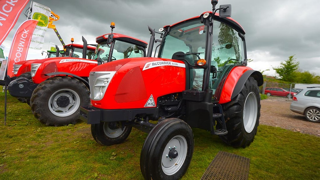 McCormick X4.35 tractor