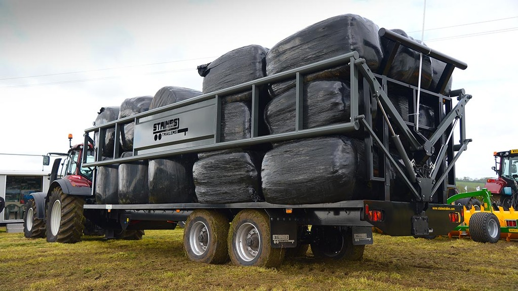 Stains Trailers' bale trailer