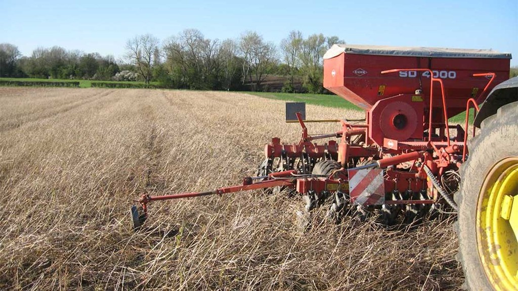 Avoid drilling pulses until soil conditions favourable
