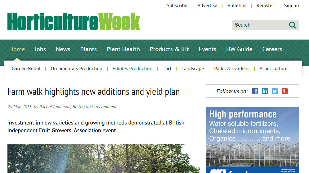 Farm walk highlights new additions and yield plan