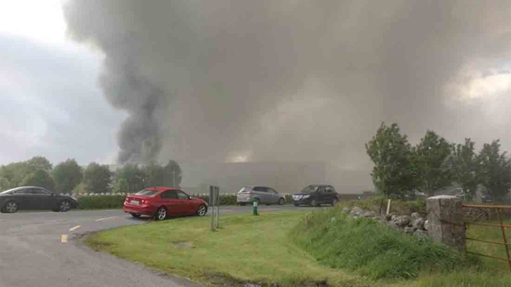 Fire contained at McHale machinery plant