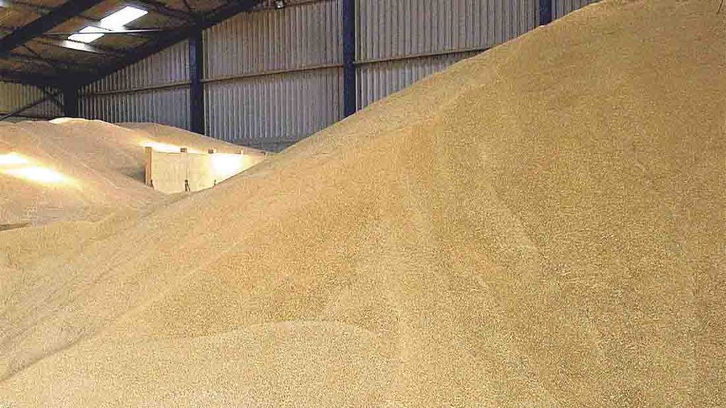 World grain stocks hit new highs
