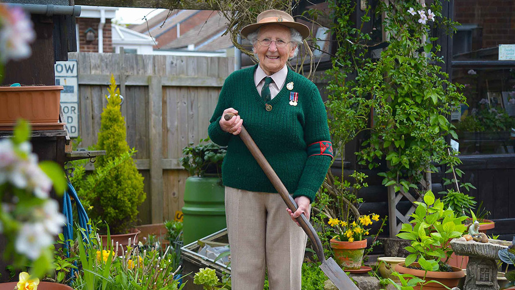Dorothy still attends local shows to educate others on the work of the Land Girls
