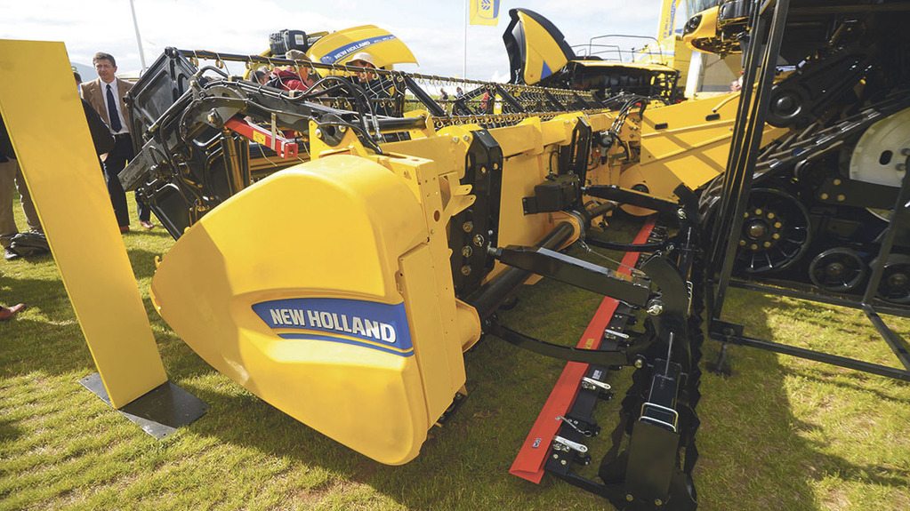 New Holland Dual Stream header