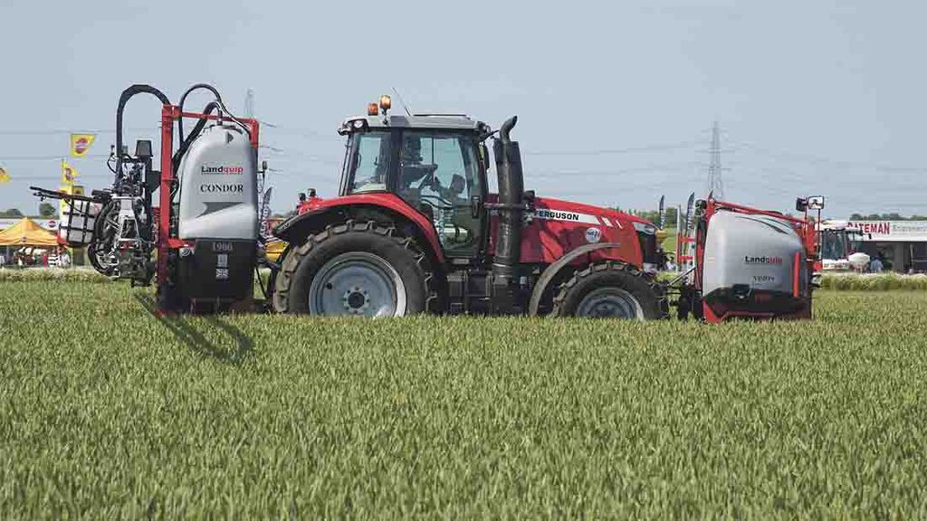 Cereals Event 2015: Latest sprayer technology showcased