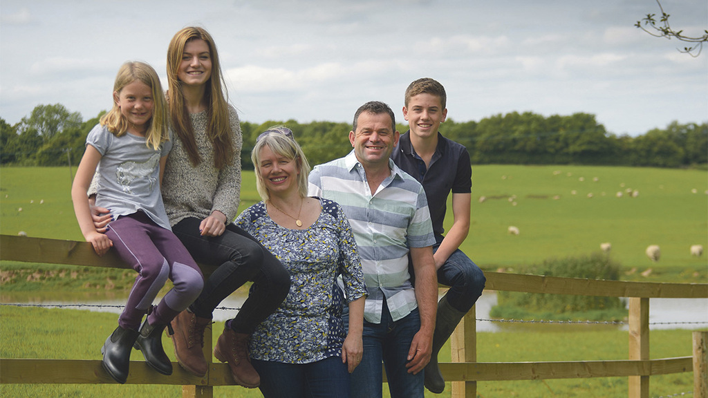 Family farm business secures future in calves and cottages