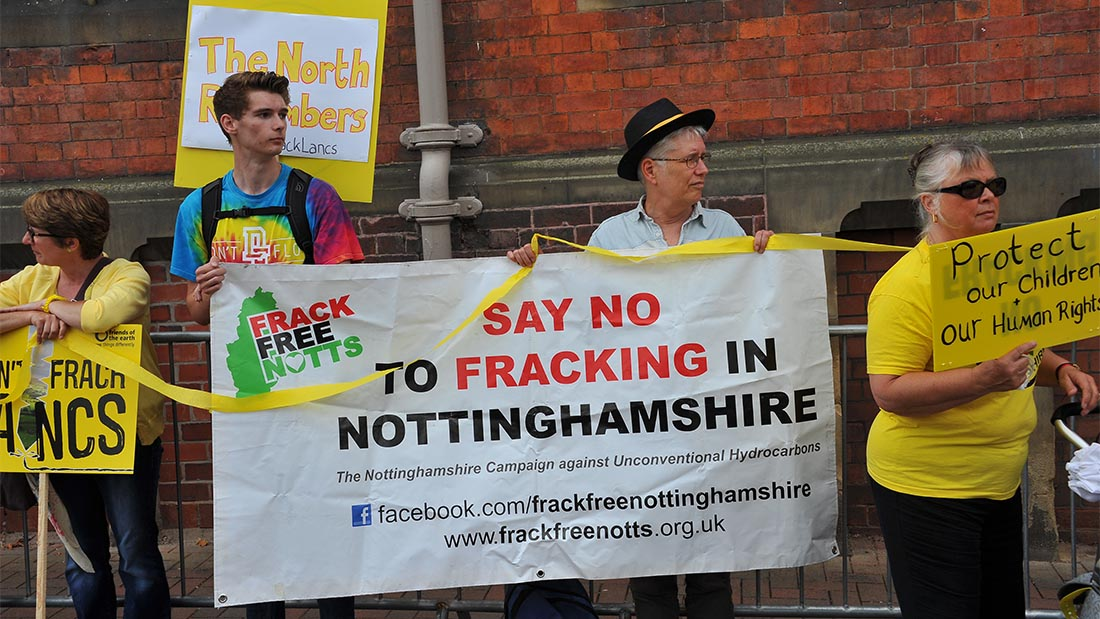 Greenpeace has said public opposition to fracking has soared in the last two years