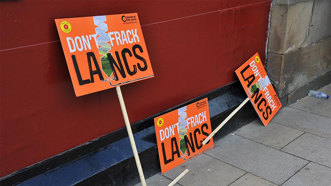 Second fracking application refused by Lancashire county council