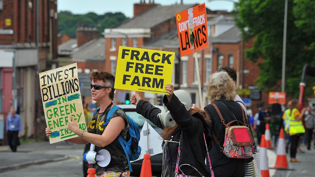 Government imposes four month time limit on fracking decisions