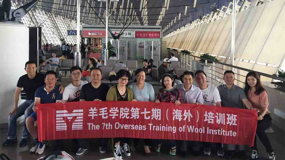 Chinese delegates visit British Wool industry