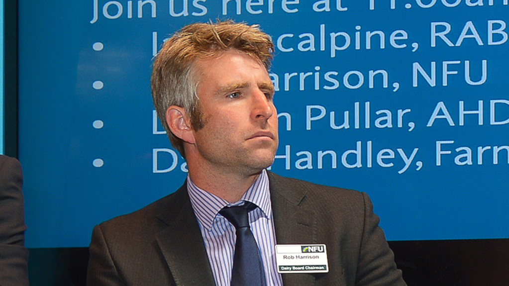 Continuing to expand milk production 'helping no-one' - Harrison