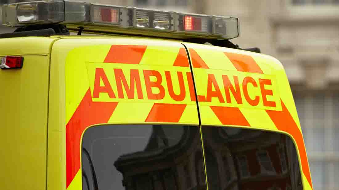 Woman dies after car collides with tractor