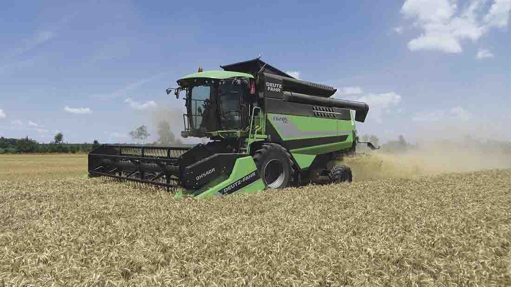 Deutz-Fahr launches combine for smaller acreages