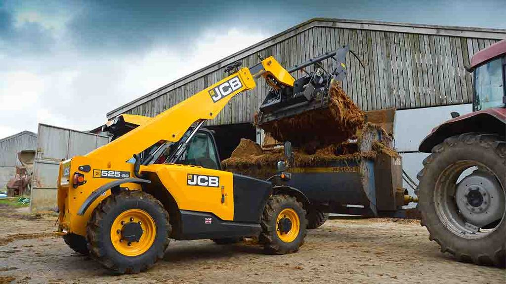 JCB 525-60 Agri Plus Loadall summary