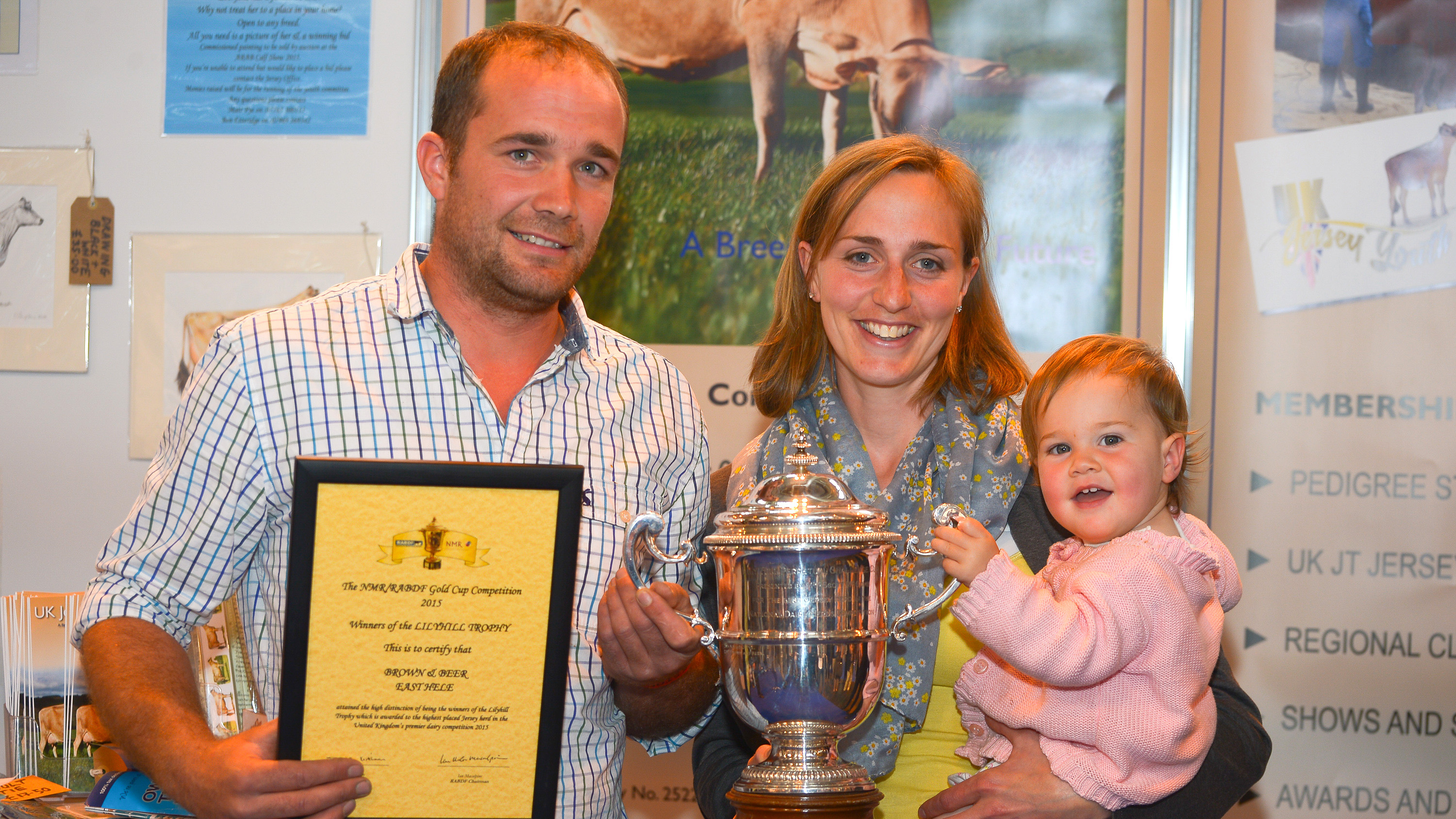 Brown and Beer take the Lily Hill Trophy