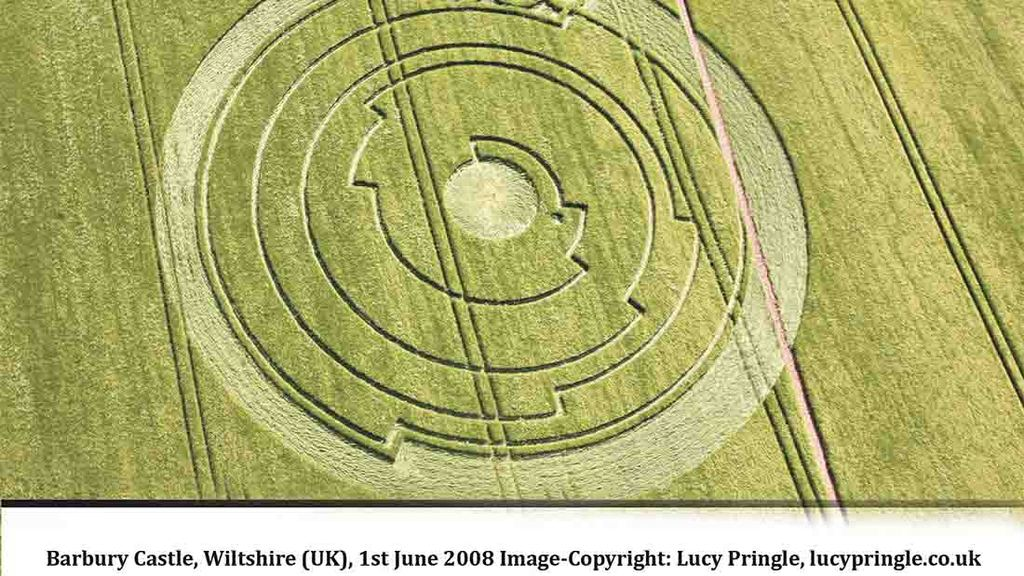Exhibition aims to reveal all about mysterious crop circle phenomenon