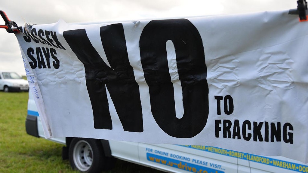 Fracking preparations get underway in Lancashire despite opposition